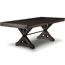 Rafters 42x72+2-12 Trestle Table