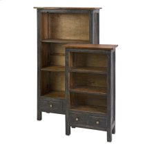 Norbert Solid Wood Bookshelf - Set of 2