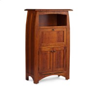 Aspen Laptop Cabinet with Inlay Product Image