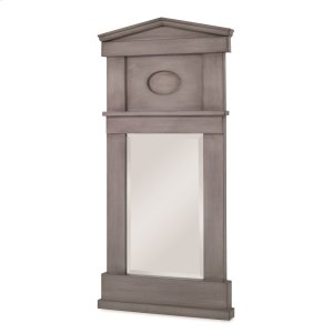 Pediment Mirror - Ash Grey Product Image