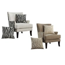 Accent Chair W/2 Pillows Kipling-domino