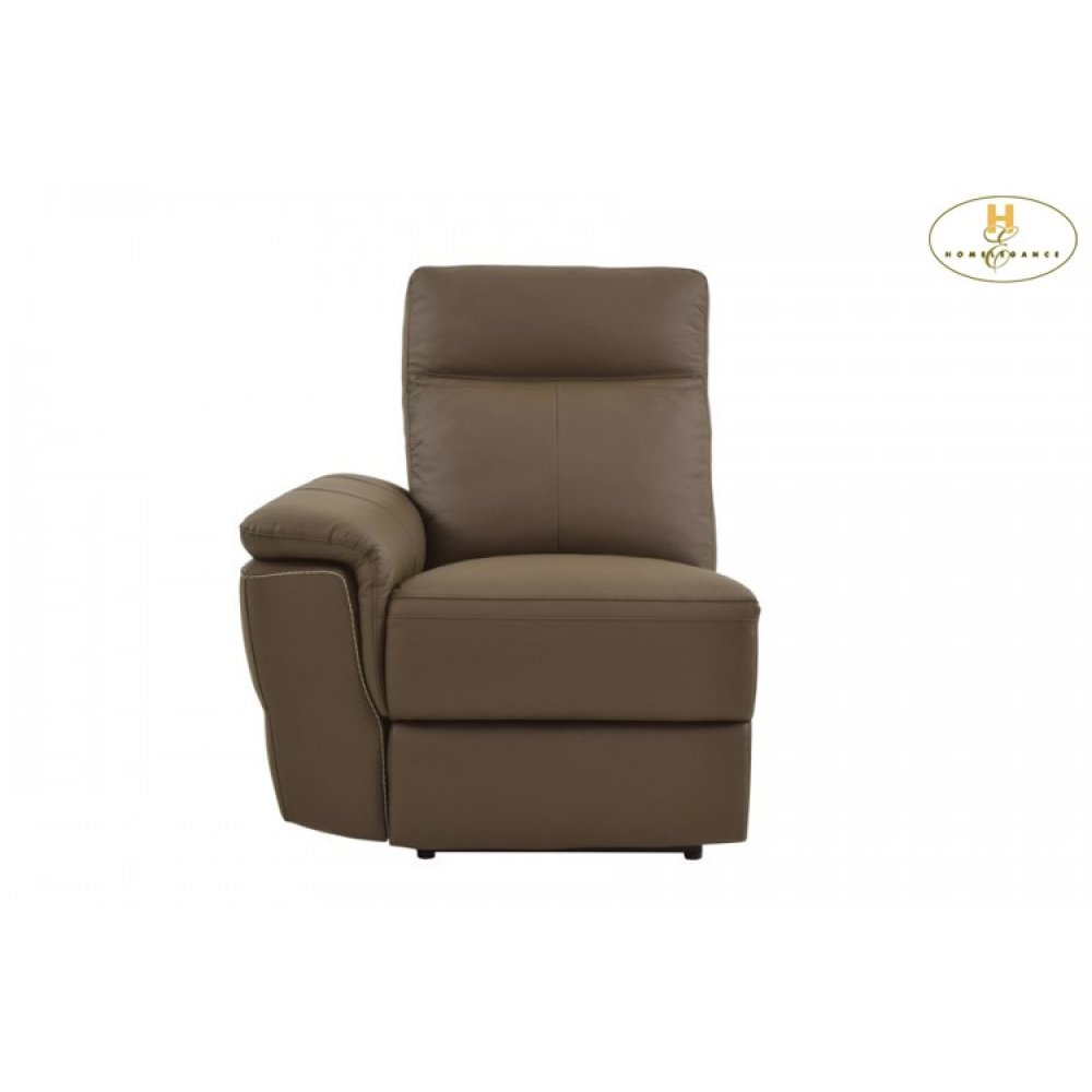 Power Left Side Reclining Chair with USB Port