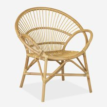 """Aleia occasional chair 31X28X34""""H - honey"""