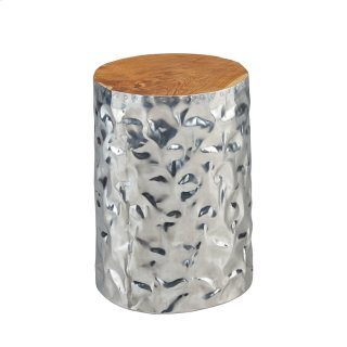 Chromium Side Table