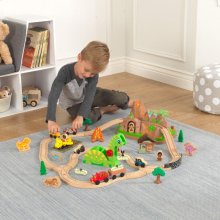 Dinosaur Bucket Top Train Set