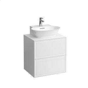 Traffic Grey Drawer element 600, 2 drawers, matches small washbasin 816852 Product Image