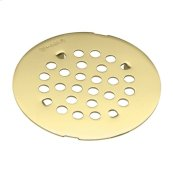 Moen polished brass tub/shower drain covers