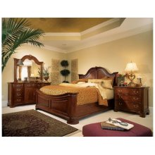 Mansion King Bed - Complete