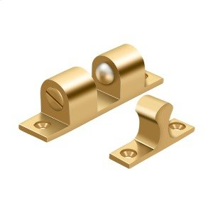 """Ball Tension Catch 3"""" x 3/4"""" - PVD Polished Brass Product Image"""