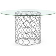 "Opal Dining Table - 54"" W x 54"" D x 30"" H"