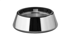 Tumbler/soap dish holder freestanding - chrome Product Image