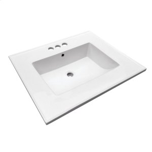 "Hartley 25"" Vanity Top - 4"" Centerset Product Image"