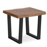 Tea Tree Lamp Table Metal Base Product Image