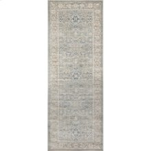 "Ella Rose Steel Rug - 2'-8"" X 7'-6"" Runner"