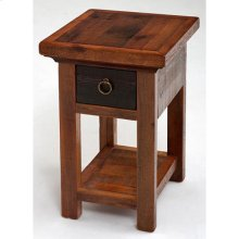 Glacier Bay - Deerbourne 1 Drawer Nightstand With Shelf