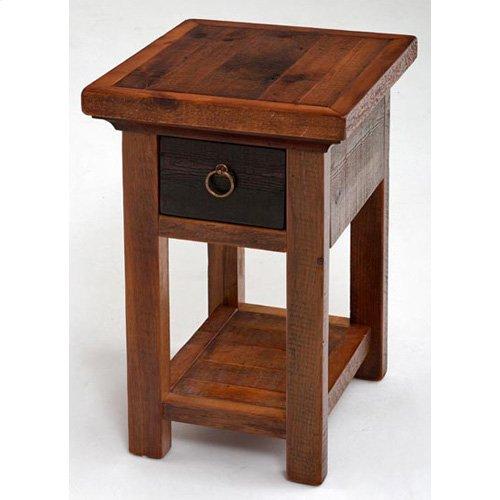Glacier Bay - Deerbourne 1 Drawer Nightstand With Shelf