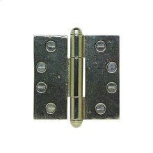 """Butt Hinge - 4"""" x 4"""" Silicon Bronze Brushed"""