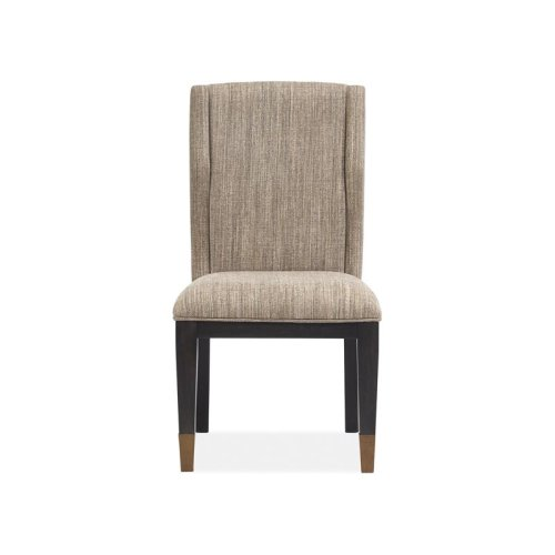 Upholstered Host Side Chair (2/ctn)
