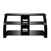 High Gloss Black FInish Flat Panel Audio/Video Furniture