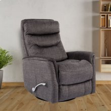 Gemini Titanium Manual Swivel Glider Recliner