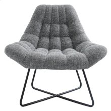 Shelby Accent Chair in Grey Blend