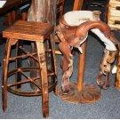 Disc Saddle Bar Stool Product Image