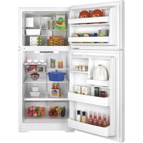 GE® ENERGY STAR® 18.2 Cu. Ft. Top-Freezer Refrigerator