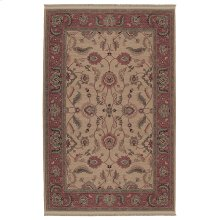 Ashara Agra Ivory Rectangle 4ft 3in x 6ft