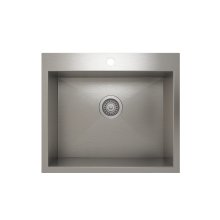 ProInox H0 Single Bowl Topmount Kitchen Sink ProInox H0 18-gauge Stainless Steel, 21'' x 16'' x 9''