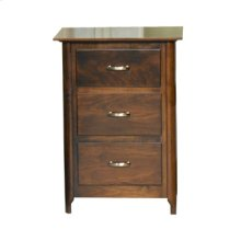 Kierstan 3-Drawer Nightstand