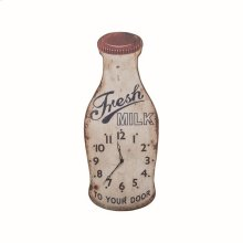 Fresh Milk Wall Clock