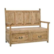 2 Drawer Bench