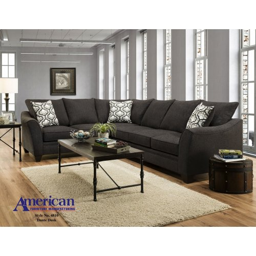 4810 - Dante Dusk 2PC Sectional