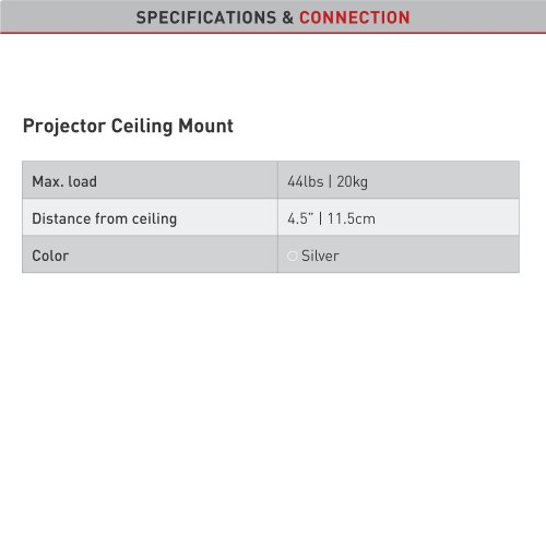 Projector Ceiling Mount
