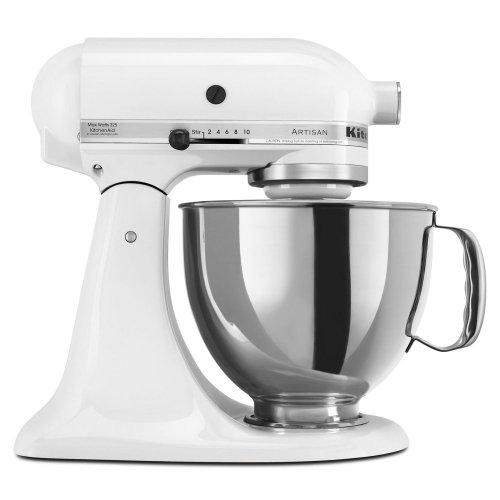 Artisan® Series 5 Quart Tilt-Head Stand Mixer - White