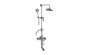 Exposed Thermostatic Tub and Shower System w/Handshower (Rough & Trim) Product Image