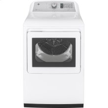 GE® 7.4 cu. ft. Capacity aluminized alloy drum Electric Dryer with HE Sensor Dry - CLEARANCE ITEM