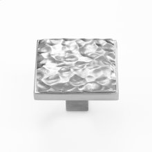 Solid Satin Pewter Cabinet Pull - 135