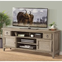 Myra - 74-inch TV Console - Natural Finish