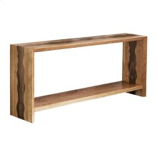 Waterfall Wavy Console Table