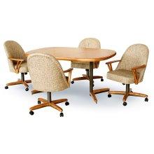 Chair Base: Wide (medium & bronze)