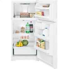 Hotpoint® 15.6 Cu. Ft. Top-Freezer Refrigerator (This is a Stock Photo, actual unit (s) appearance may contain cosmetic blemishes. Please call store if you would like actual pictures). This unit carries our 6 month warranty, MANUFACTURER WARRANTY and REBATE NOT VALID with this item. ISI 32852