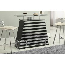Mirror Stripes Bar Table
