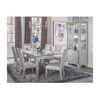 Allura Dining Table, Glass Insert
