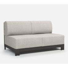 Armless Loveseat - Cushion