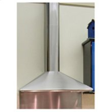 High Ceiling Chimney Kit For Isola's-Stilo, Tratto, Dama - Stainless