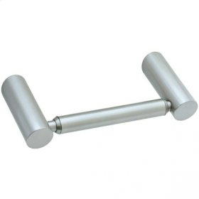 Techno - Two-Post Toilet Paper Holder - Polished Chrome