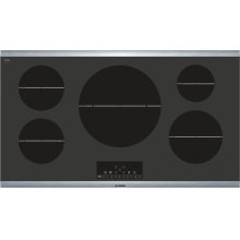 Serie  6 800 Series - Black with Stainless Steel Frame NIT8666SUC NIT8666SUC