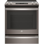 """GE® 30"""" Slide-In Electric Convection Range Product Image"""