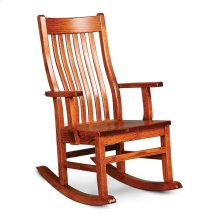 Urbandale II Arm Rocker, Wood Seat